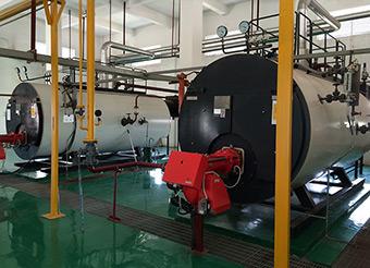 CWNS型全主动燃油气热水锅炉